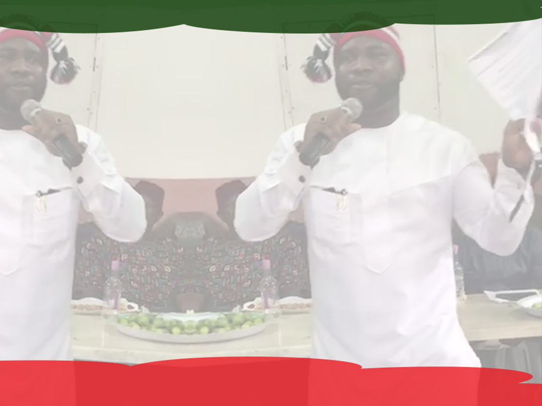 Comrade Philip Ejiogu Speaking about Election