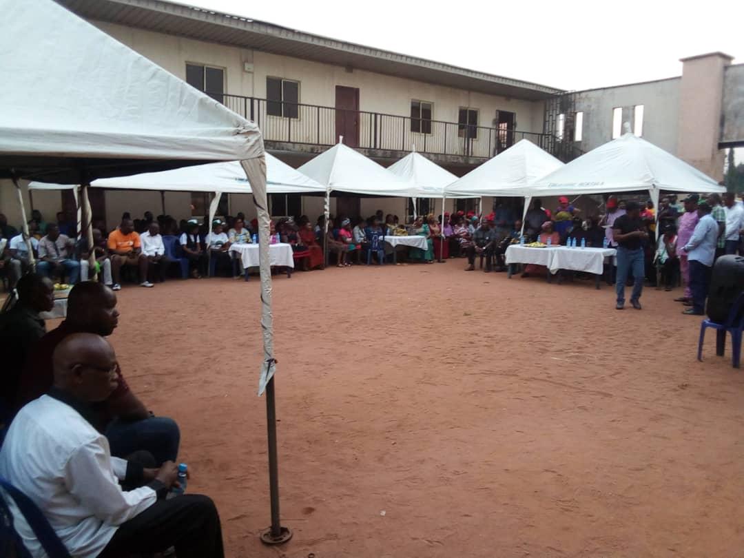 Philip Ejiogu in Election Campaign