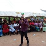 Campaign pictures at Emekuku