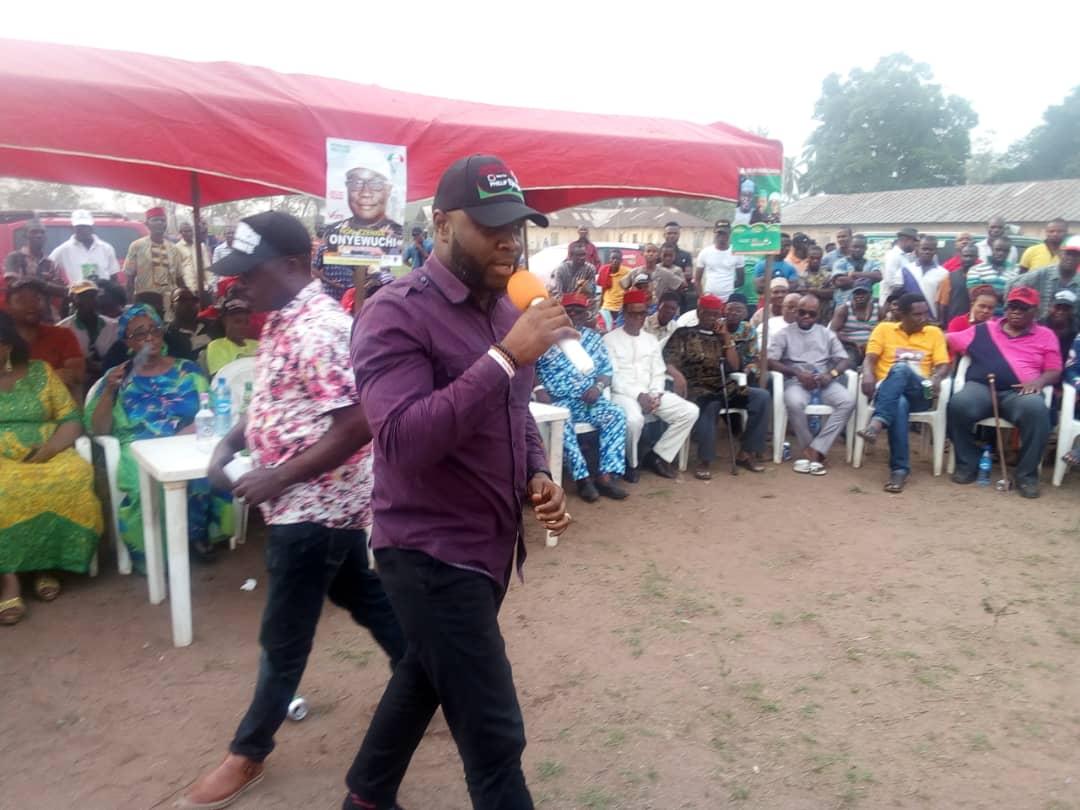 Philip Ejiogu Speaking in Election Campaign Owerri North